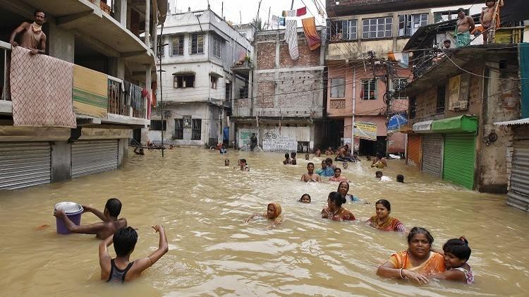 الهند.. مصرع 27 شخصا جراء فيضانات جنوبي البلاد