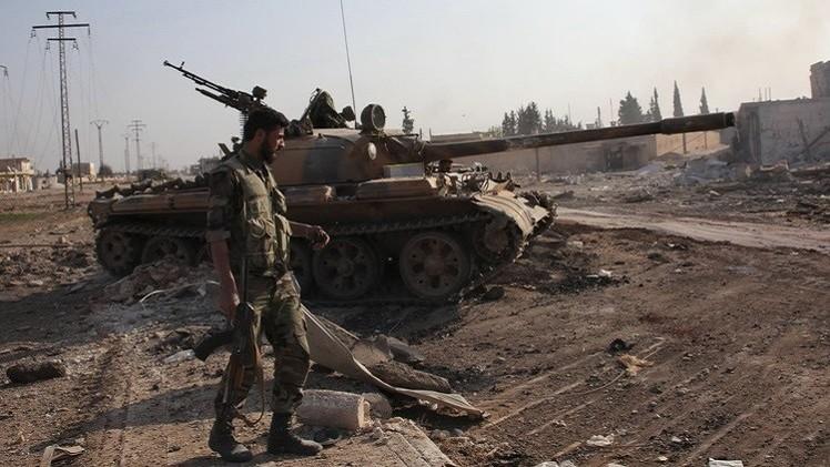 الجيش السوري يسيطرعلى مدينة الحاضر جنوب حلب