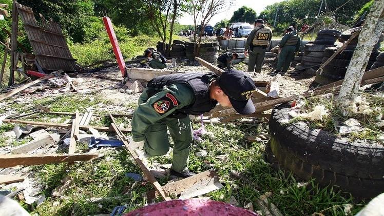 مقتل 4 بانفجار قنبلة جنوب تايلاند