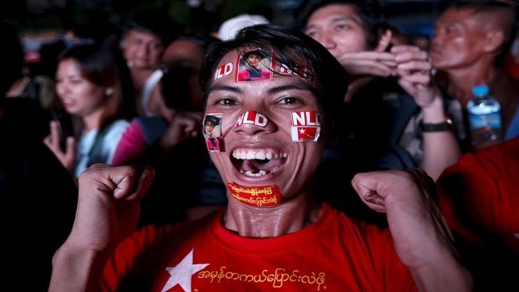 حزب المعارضة في ميانمار ينال أصواتا كافية لانتخاب الرئيس