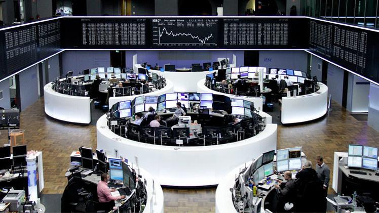 المؤشرات الأوروبية تنخفض في تداولات نهاية الأسبوع