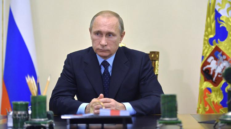 بوتين: الغرب رفض التعاون معنا في تحديد الجماعات الإرهابية على أرض سوريا