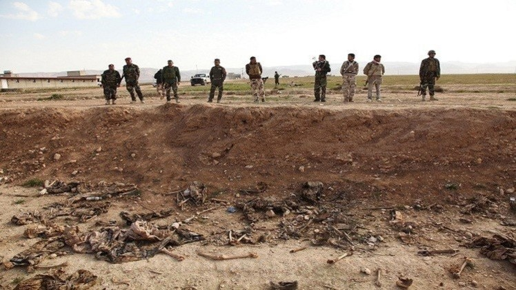 العراق.. العثور على مقبرة جماعية في سنجار تضم رفات نساء