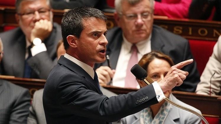 رئيس وزراء فرنسا: سنواصل ضرب أهداف