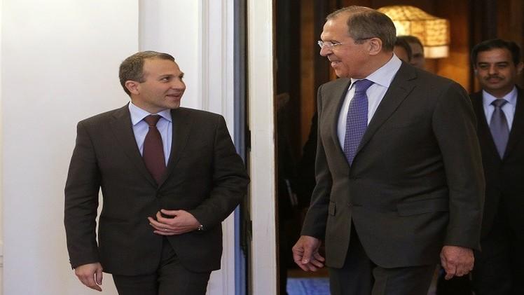 باسيل يبحث مع لافروف بموسكو تطورات الأوضاع في الشرق الأوسط