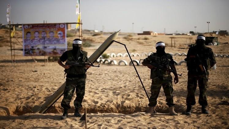 إطلاق صاروخين من غزة على إسرائيل