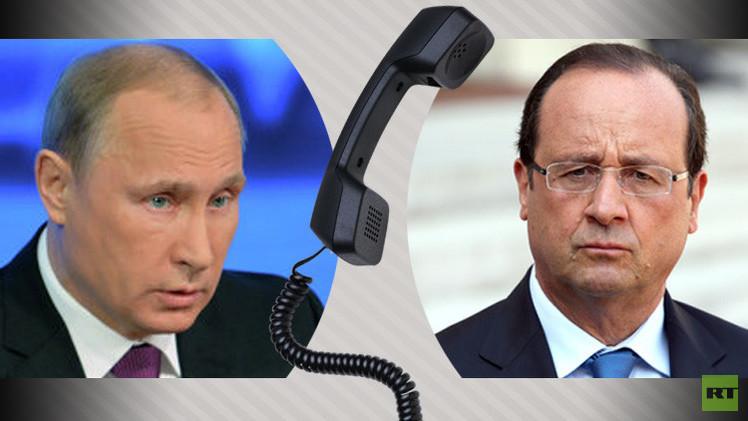 الكرملين: بوتين وهولاند يبحثان التنسيق المشترك في مكافحة الإرهاب  26 نوفمبر