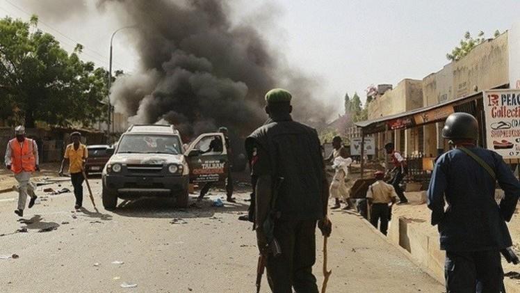 32 قتيلا وعشرات الجرحى في انفجار شمال شرق نيجيريا