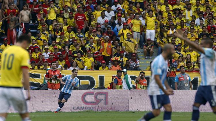 التانغو يعود إلى سكة الانتصارات من بوابة كولومبيا