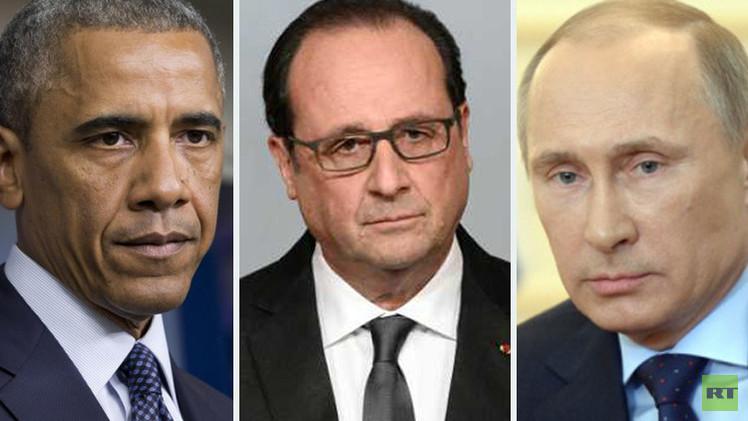 هجمات باريس وتفجير الطائرة الروسية يرسمان ملامح تحالف جديد ضد الإرهاب