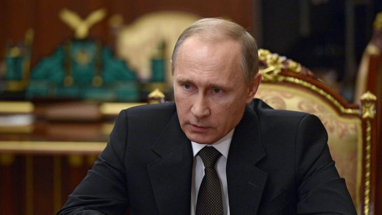 بوتين يوقع مرسوما حول تشكيل لجنة حكومية لمكافحة تمويل الإرهاب
