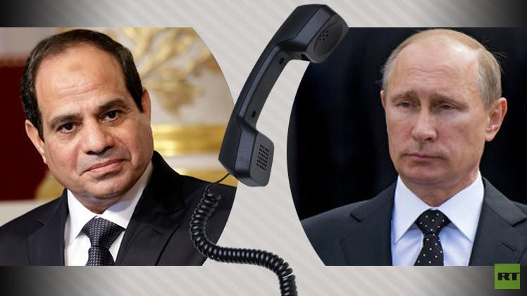 بوتين والسيسي يتفقان على تعزيز أمن الطيران بين روسيا ومصر لاستئناف الرحلات