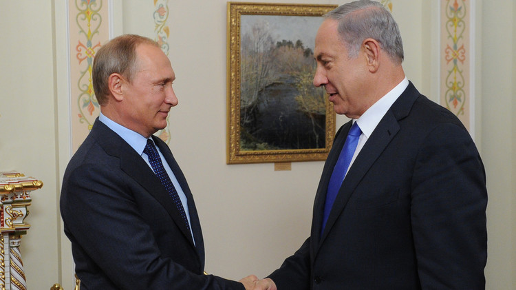 بوتين يبحث مع نتنياهو هاتفيا الأزمة السورية والتسوية الفلسطينية - الإسرائيلية