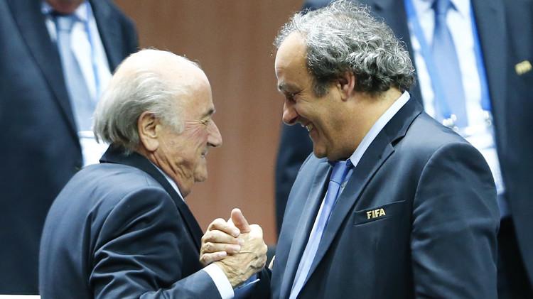 رفض استئناف بلاتر وبلاتيني لقرار إيقافهما