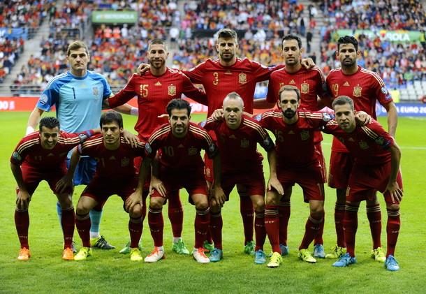 منتخب إسبانيا حامل لقب بطل كأس الأمم الأوروبية