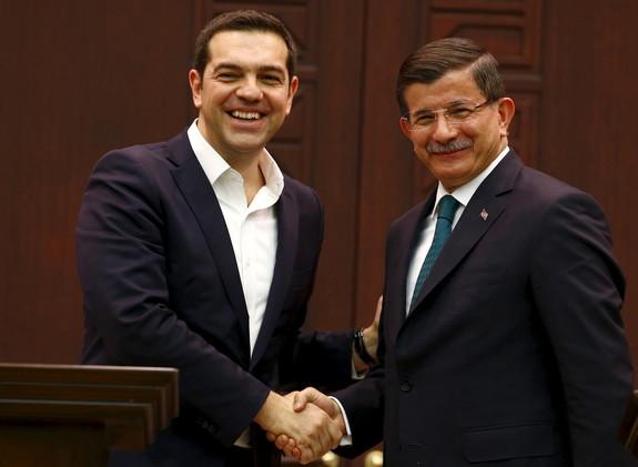 تركيا واليونان تتفقان على تكثيف الجهود لإيقاف تدفق المهاجرين