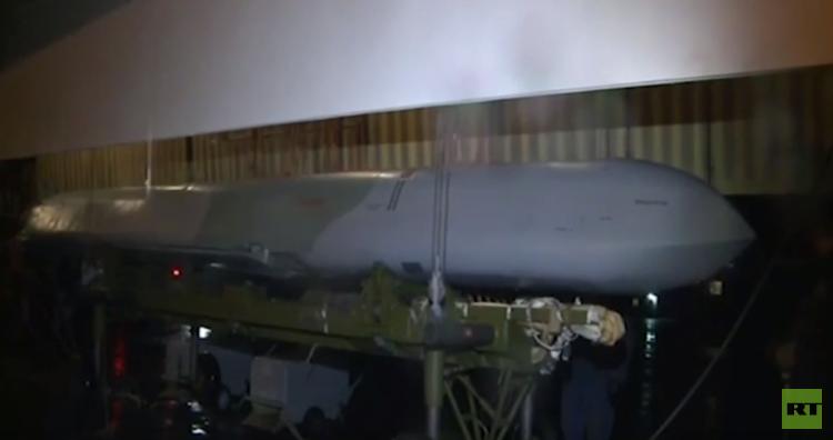 الطائرات الاستراتيجية الروسية تستخدم في سوريا صاروخا مجنحا من الجيل الجديد (فيديو)