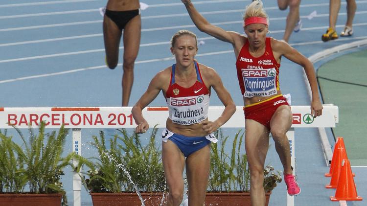 تجريد العداءة الإسبانية دومينيغز من ذهبية بطولة عالم 2009