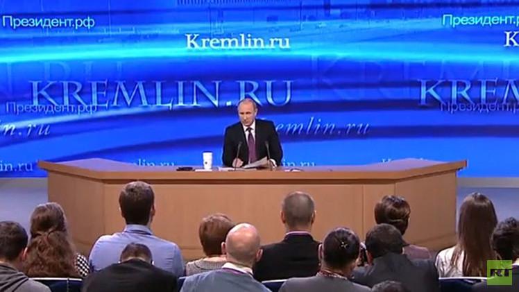 بوتين يعقد مؤتمره الصحفي السنوي الموسع في الـ17 من الشهر المقبل