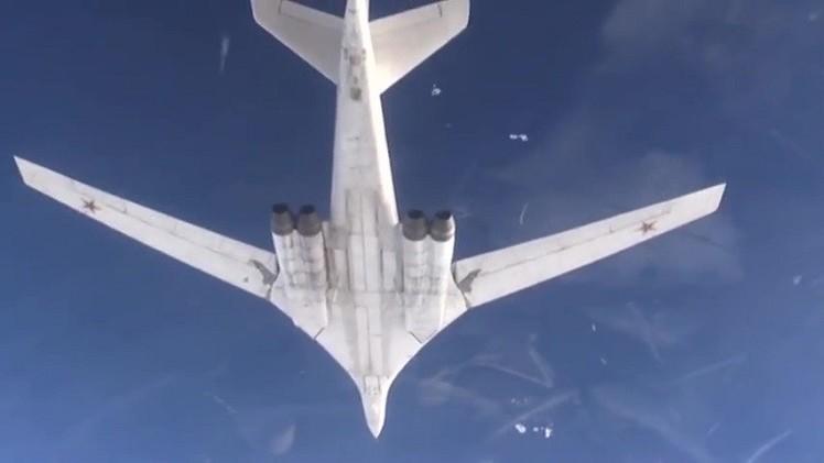 مقاتلتان روسيتان فوق المحيط الأطلسي تثيران قلق لندن