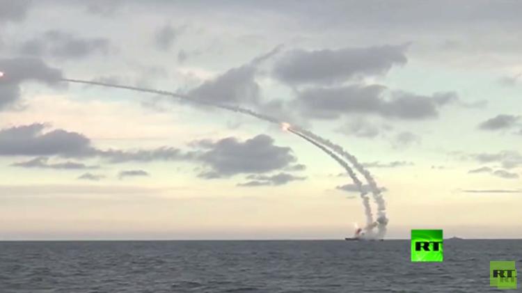 صواريخ روسية مجنحة أطلقت من بحر قزوين تدمر 7 أهداف في سوريا