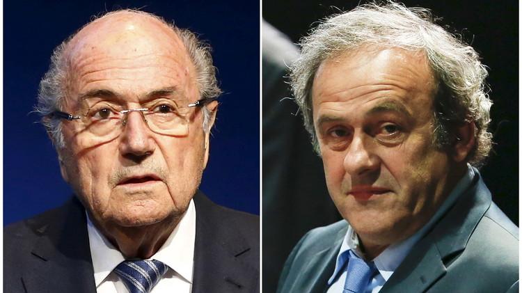 لجنة القيم في الفيفا تطالب بمعاقبة الثنائي بلاتر وبلاتيني