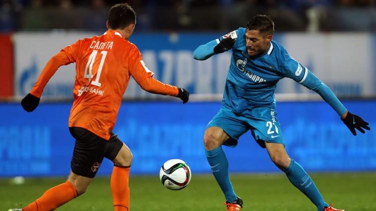 زينيت بطرسبورغ يقسو على ضيفه أرال في الدوري الروسي