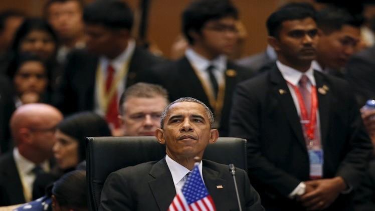 أوباما: هناك إصرار دولي على هزيمة الإرهاب وإنهاء الأزمة في سوريا