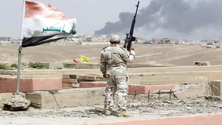 العراق يصنع مدرعة لاستخدامها في محاربة داعش