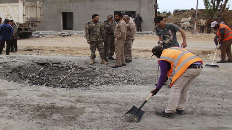 ليبيا.. العثور على مقبرة جماعية في مدينة زليتن