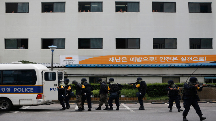 ضبط 10 أشخاص في كوريا الجنوبية مرتبطون بـ