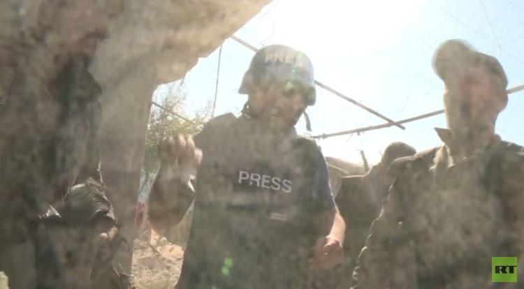 استهداف طاقم RT في سوريا