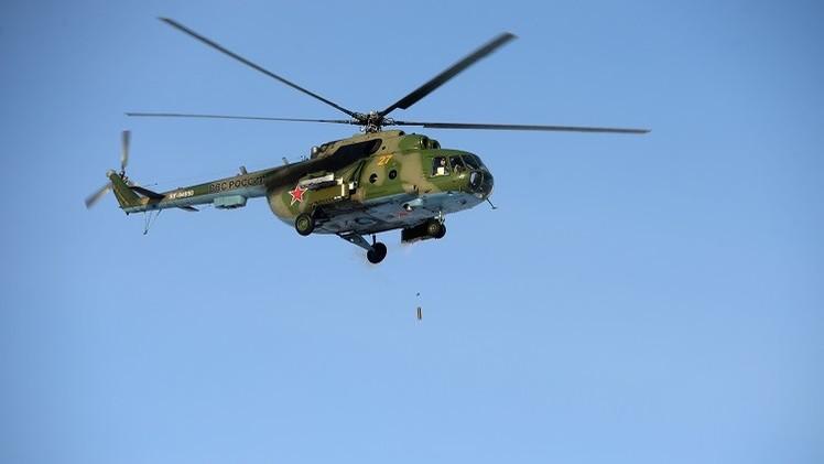 إصابة مروحية روسية ومقتل جندي من مشاة البحرية