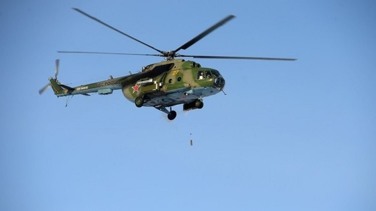 مقتل 10 أشخاص بتحطم مروحية في إقليم كراسنويارسك الروسي (فيديو)