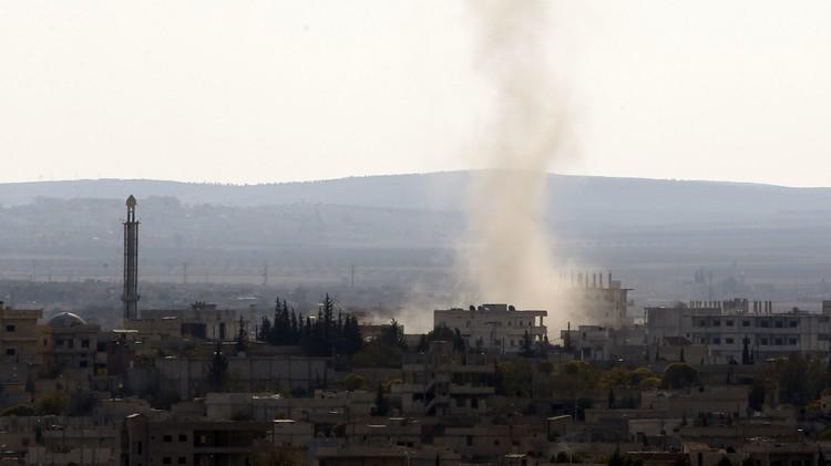 سوريا.. وصول نحو 50 عسكريا أمريكيا إلى عين العرب عبر تركيا