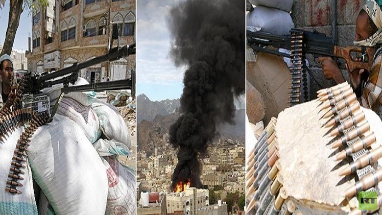 معارك دامية بين قوات هادي والحوثي في باب المندب.. ومأرب تحت القصف