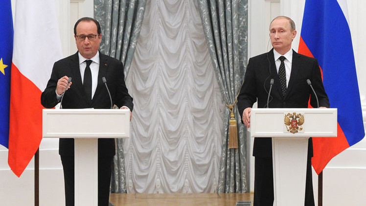هولاند في موسكو: هو عنده الرغبة ولكن عند أوباما الرهبة، وهو لا يسمح!!!