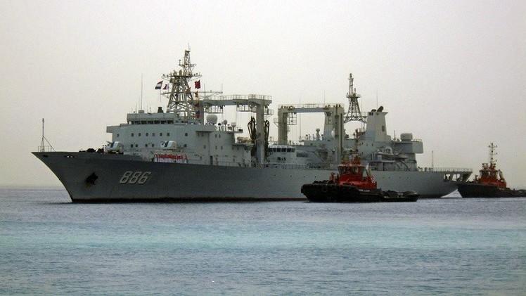 أول تدريب للبحرية الصينية بالاشتراك مع حلف الأطلسي