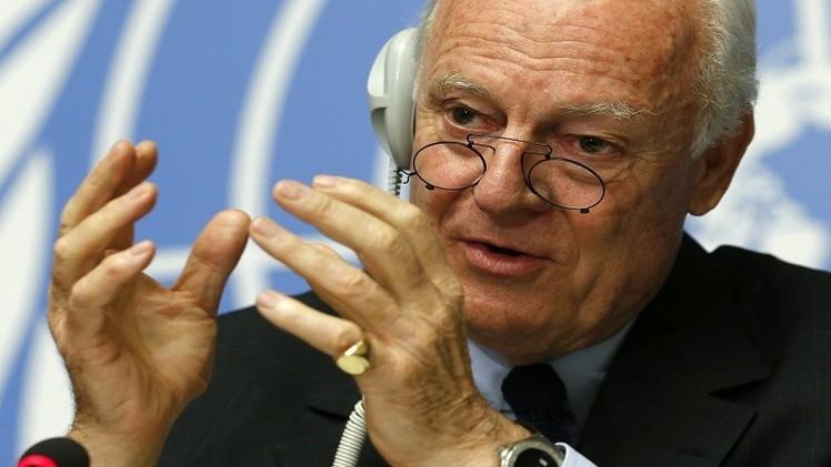 دي ميستورا: إسقاط تركيا للقاذفة الروسية سيعقد الأمور في سوريا