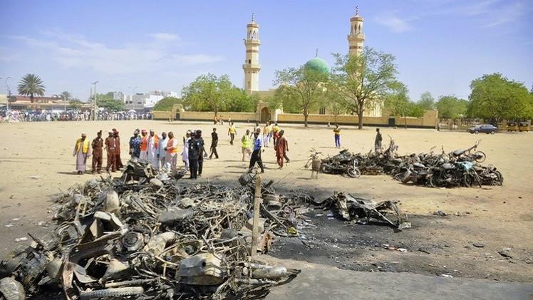 مقتل أكثر من 20 شخصا في تفجير انتحاري شمال شرق نيجيريا