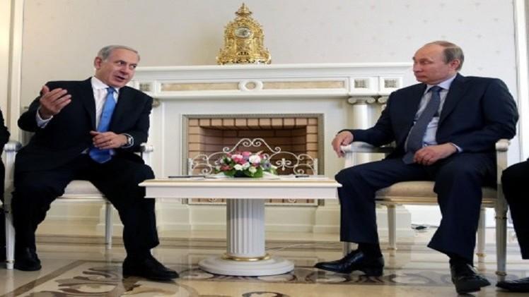 بوتين يلتقي نتنياهو الإثنين في باريس