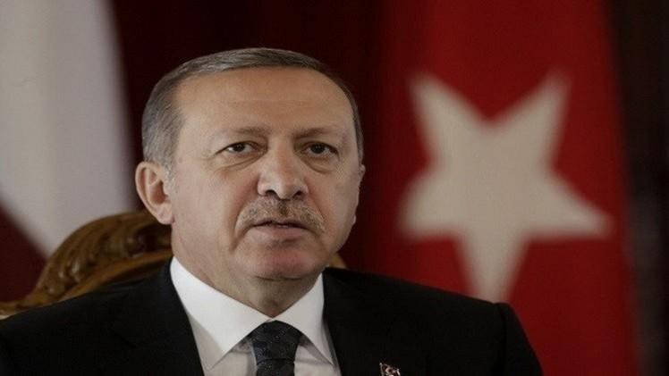 أردوغان يأسف على حادث القاذفة الروسية ويأمل في عدم تكراره