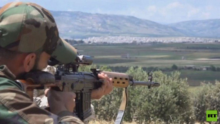 معارك كسر عظم في الشمال الغربي لسوريا
