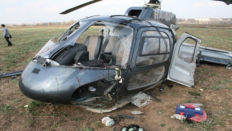 4 قتلى جراء سقوط مروحية مدنية روسية غرب سيبيريا