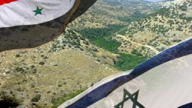 إسرائيل: طائرة حربية روسية اخترقت الأجواء في الجولان