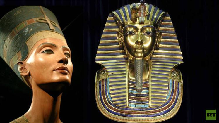 مقبرة الملك توت عنخ آمون قد تحتوي على غرفة دفن نفرتيتي