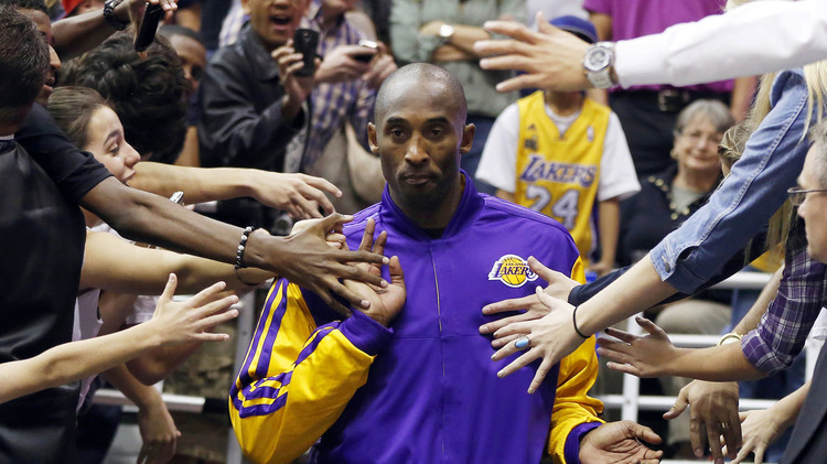 نجم كرة السلة كوبي براينت يقرر ترك معشوقته