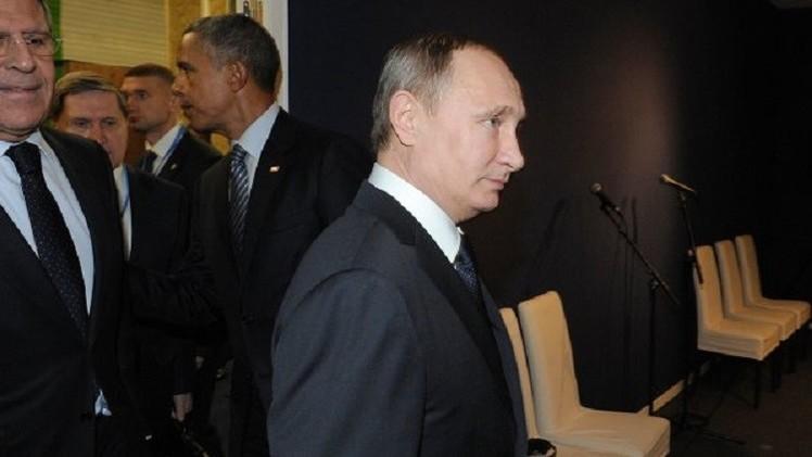 بوتين يلتقي أوباما في قمة المناخ بباريس
