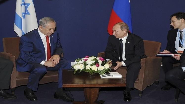 بوتين: آلية التنسيق بين العسكريين الروس وإسرائيل في ضوء تأزم الوضع في سوريا تعمل بنجاح