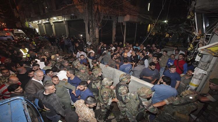 حداد وطني في لبنان غداة تفجيري برج البراجنة